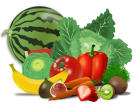 Image result for free clip art fruit & vegetables transparent