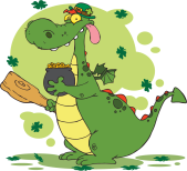 png_1498-Dragon-Leprechaun-with-a-pot-of-gold-and-mace