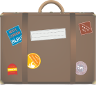 suitcase-travel-baggage-brown-baggage-handling