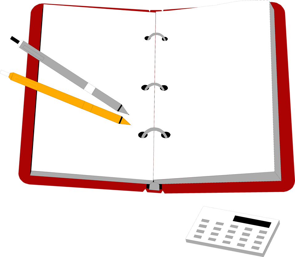 7322-illustration-of-an-organizer-with-pens-and-a-calculator-pv