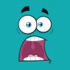 png_10872-Royalty-Free-RF-Clipart-Scared-Cartoon-Funny-Face-With-Panic-Expression-Vector-With-Blue-Background