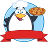 png_Royalty-Free-RF-Clipart-Illustration-Chef-Penguin-Holding-A-Pizza-Pie-Circle-Banner