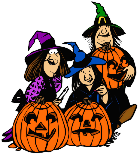 witch_family_carving_pumpkins_T