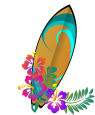 hawai-surfboard-clipart
