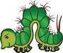 Free Clipart Of A caterpillar