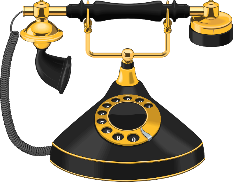 free-stock-photo-illustration-of-a-an-antique-telephone-14326-cjC6Ey-clipart