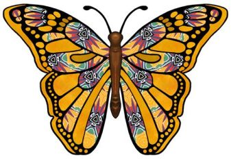 butterfly paisley